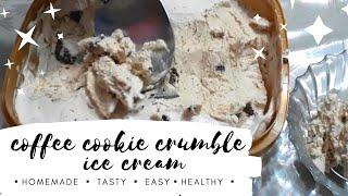 Coffee Cookie Crumble Ice Cream | Homemade Icecream | MEY's TV