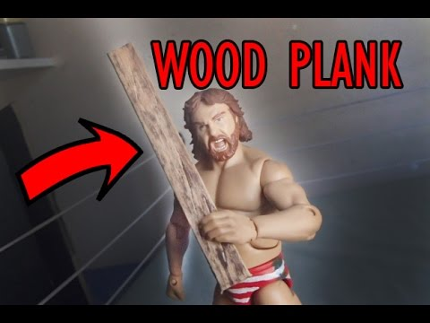 How To Make A 2x4 Wood Plank For WWE Action Figures