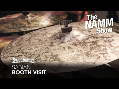 Sabian Booth Visit at Winter NAMM 2020