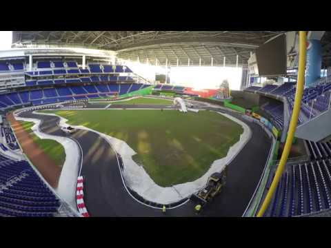 ROC Miami - Marlins Park Track Build