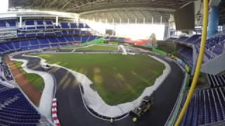 ROC Miami - Marlins Park Track Build