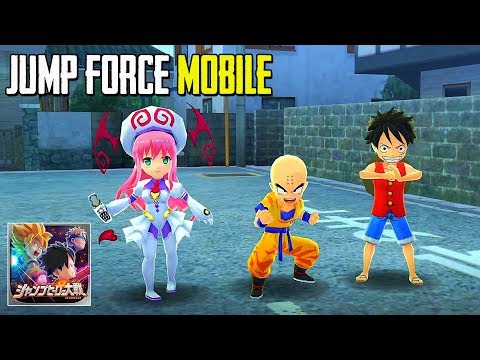 Jump Force Mobile - Weekly Jump Heroes Battle! My Collection 2 Gameplay (Android/IOS)