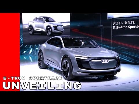 Audi e-tron Sportback Unveiling At Shanghai