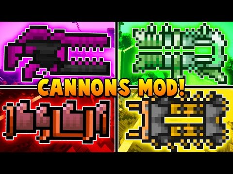 WALLS PVP CANNONS MOD CHALLENGE vs BajanCanadian, Vikkstar And Tewtiy | Minecraft - Mod Battle