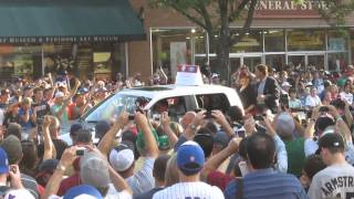 Tony LaRussa Hall of Fame Parade 2014 Cooperstown