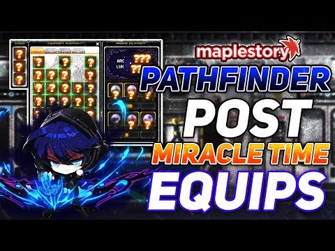 Post Miracle Time Pathfinder Equips! MapleStory: Road To Pathfinder Episode Three