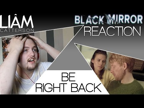 Black Mirror 2x01: Be Right Back Reaction
