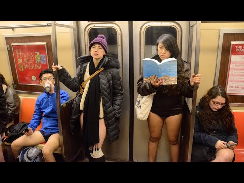 Austin James - No Pants subway ride!!!