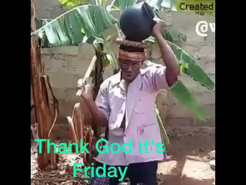 A crazy man only blouse is Friday