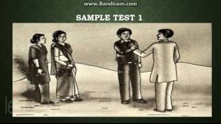 SAMPLE TEST || Thematic Apperception Test