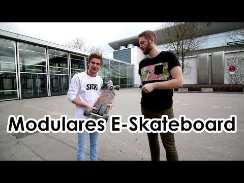 Unlimited Boards - Modulares Elektroskateboard - erster Eindruck