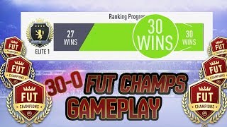 30-0 FUT CHAMPIONS GAMEPLAY HIGHLIGHTS FIFA 19 ULTIMATE TEAM
