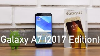 Samsung Galaxy A7 2017 Unboxing & Overview (Indian Unit)