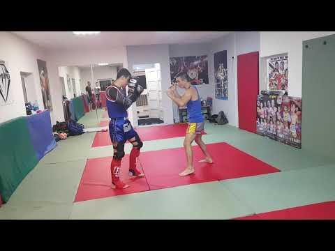 Тайский бокс в городе Дзержинский Московская область, с Мастером спорта, профессиональным бойцом.