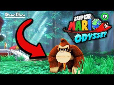 NEWS: Mario Odyssey NEUE Chraktere SPIELBAR : DONKEY KONG, Bowser, Luigi