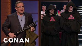 Andy Thinks The Eelpocalypse Is Upon Us - CONAN on TBS