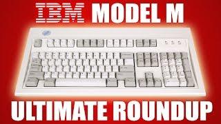 IBM Model M keyboard ultimate roundup!
