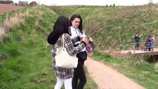 DAY TRIP TO DUNNOTTAR CASTLE, SCOTLAND. APRIL 2017 | Ashley Croft