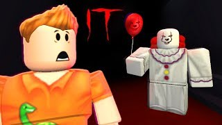 ESCAPE 'IT' CLOWN IN ROBLOX