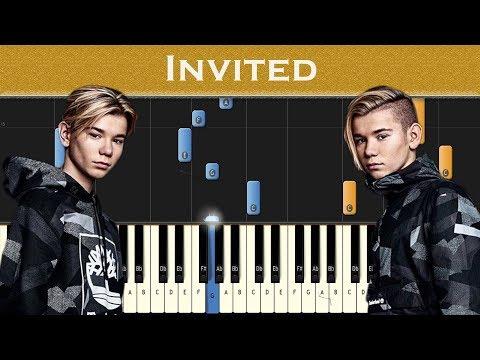Marcus & Martinus - Invited   Piano tutorial