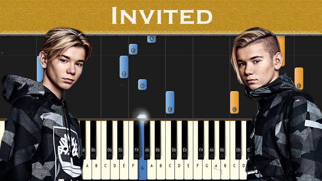 Marcus & Martinus - Invited | Piano tutorial #1