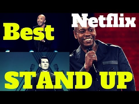 BEST Stand Up Specials on Netflix 2017