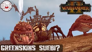 Greenskins = Suebi? - Total War Warhammer 2 - Online Battle 224