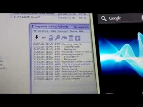 How to install stock ROM on Sony Ericsson Xperia Arc S 100% Working