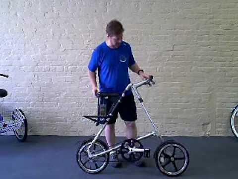 f2e50a511d5 Strida LT Folding Bike: How to fold & unfold - YouTube