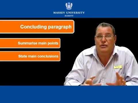 Видео Writing a conclusion to an english essay