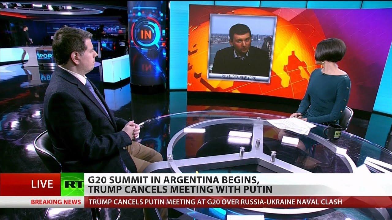 Trump Cancel's Meeting with Putin As G20 Kicks Off