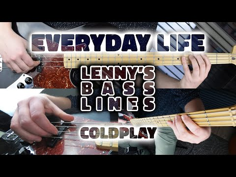 coldplay---everyday-life---bass-line