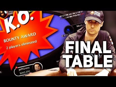 FINAL TABLE $530 Highroller Bounty w/ $38,720.40 to 1st!