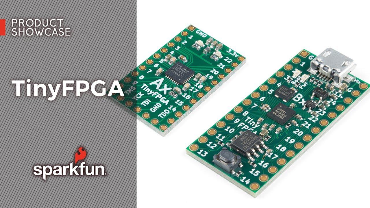 TinyFPGA BX Board - DEV-14829 - SparkFun Electronics