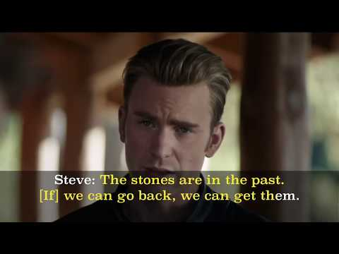 Learn English with Movies #1: Marvel's Avengers: Endgame