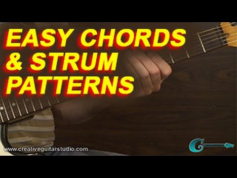 BEGINNER GUITAR: Easy Chords & Strum Patterns