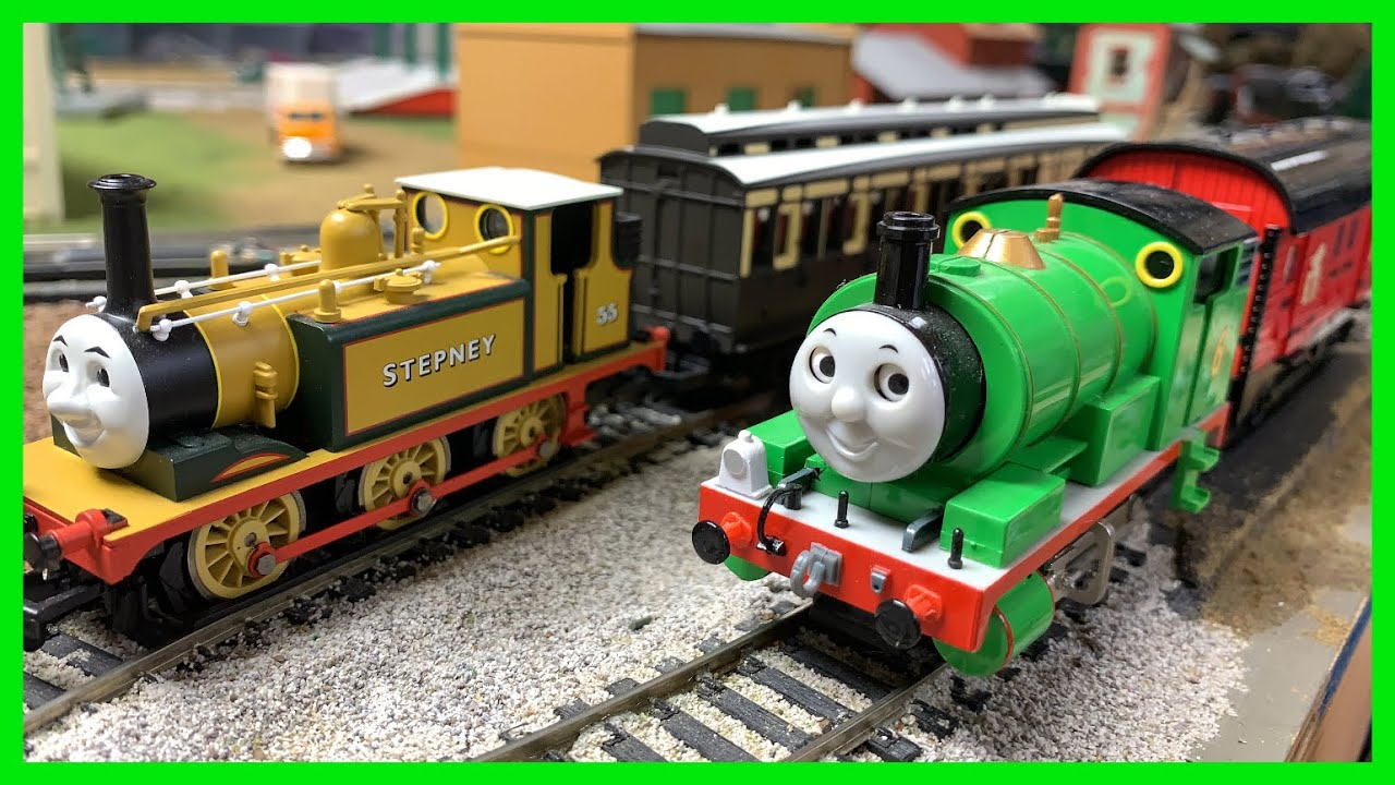 Stepney, Old Slow Coach, Thomas and Percy - Viewer Requests Hornby and Bachmann Trains