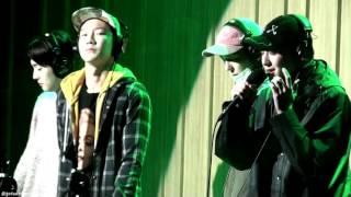 160212 컬투쇼 WINNER 센치해 Live (민호&승윤)