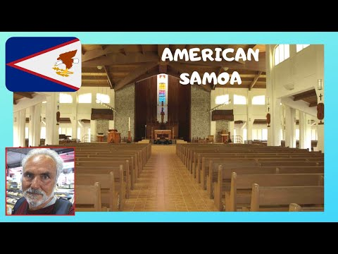 AMERICAN SAMOA: CATHEDRAL combines CHRISTIAN beliefs with SAMOAN CULTURE
