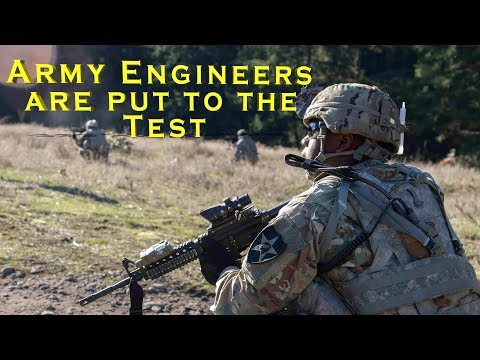 Army Engineers Breach Obstacles