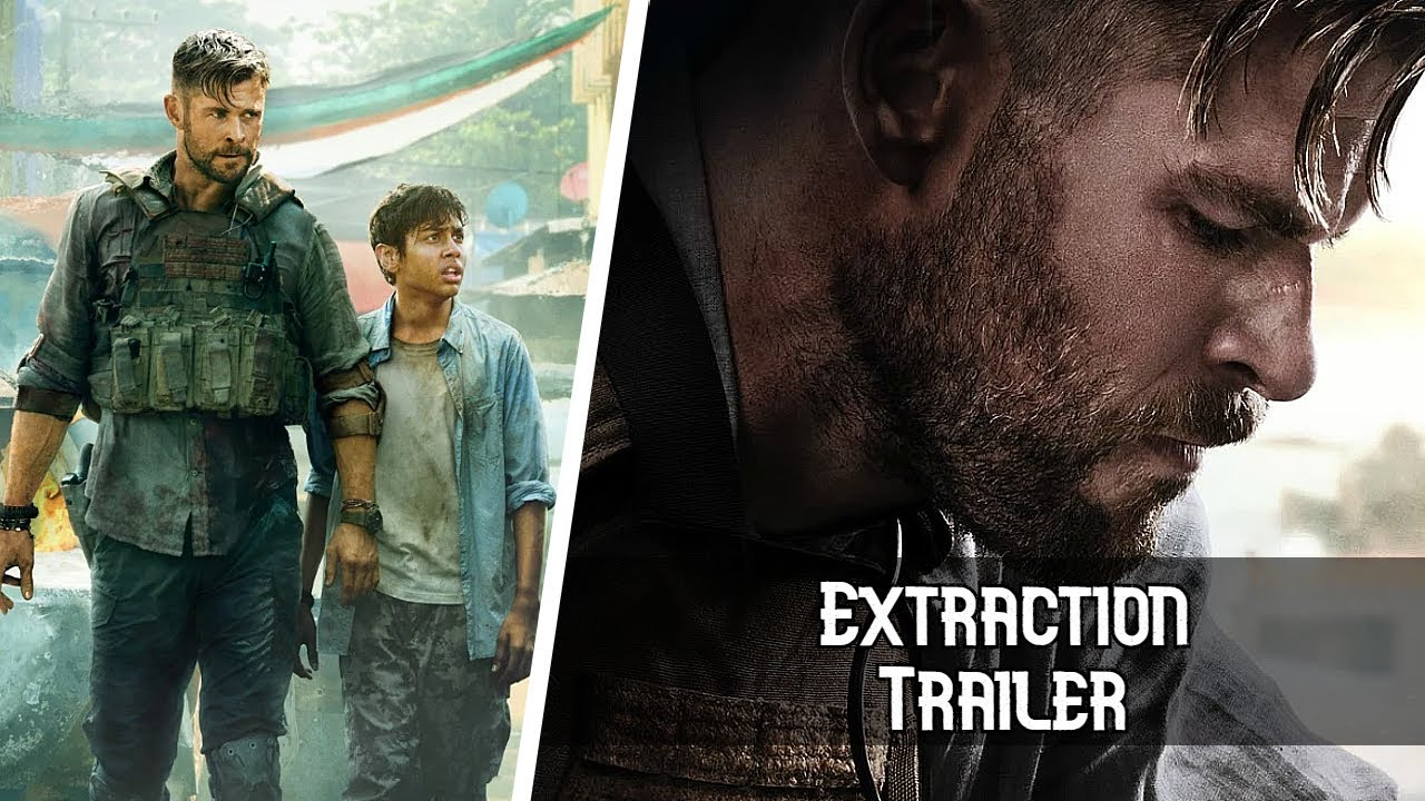 New Extraction Movie Trailer Parlor Talk