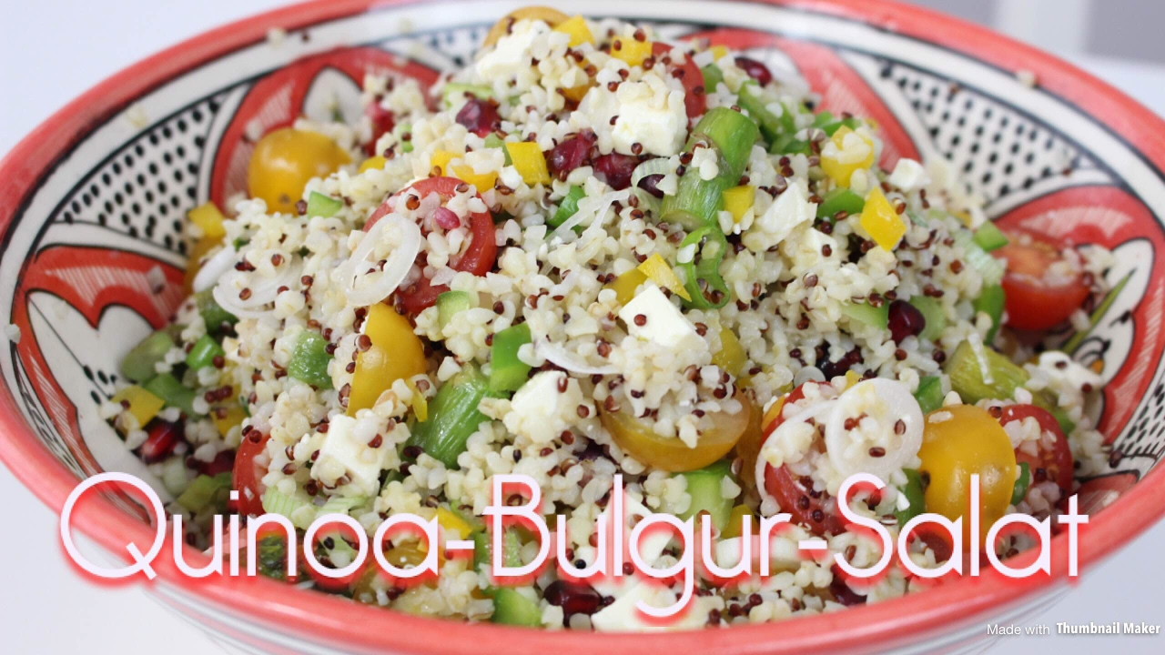rezept quinoa bulgur salat salat f r jede grillparty. Black Bedroom Furniture Sets. Home Design Ideas