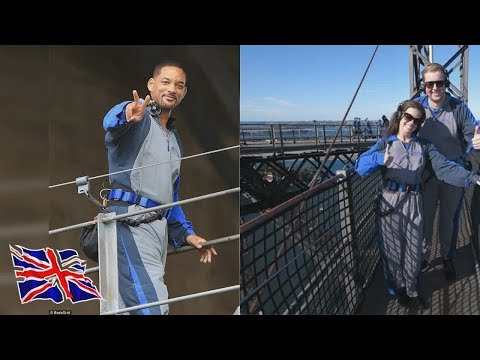 Will Smith climbs the Sydney Harbour Bridge during trip to Australia  And so it was only fitting
