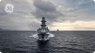 Gas Turbines for Military Ship Propulsion from GE's Marine Solutions