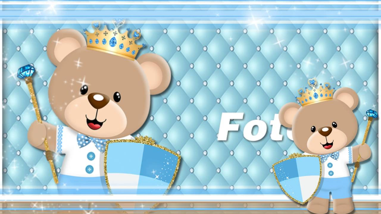 Projeto Ursinho Principe Azul Claro Youtube