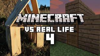 Minecraft vs Real Life 4 - Shelter