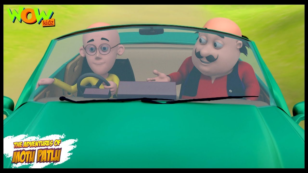 Motu Patlu Ki Car - Motu Patlu in Hindi WITH ENGLISH, SPANISH & FRENCH SUBTITLES