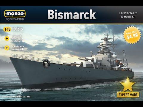 [GamePlay] MONZO - Bismarck - German battleship [Deutsche Schlachtschiff]