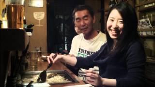 有田夏海と一銭屋 二階堂 純 の『もんじゃでなう』