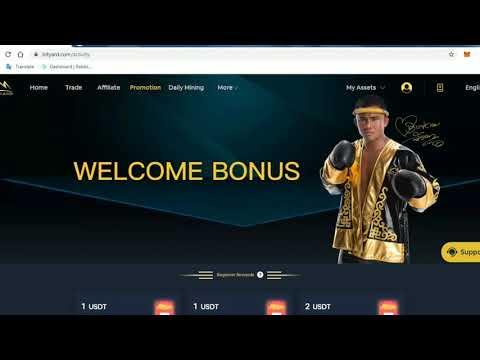 Bityard Crypto exchange review! Bonus USDT and Free Daily Mining!